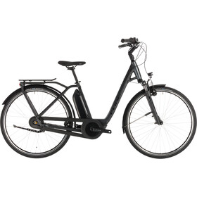 Cube Town Hybrid Pro 500 E-City Bike Easy Entry grey